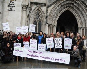 Rights for Women demo (Law Society Gazette)